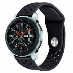 Armband till Samsung Galaxy Watch 46 mm - svart
