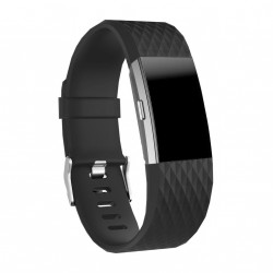 Armband till Fitbit Charge 2 - Svart - Small