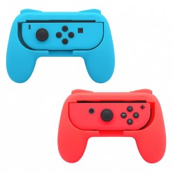 Nintendo Switch Joy-Con Controller Grip - 2-pack - röd/blå