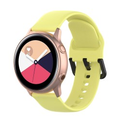Armband till Samsung Galaxy Watch 42mm - gul (S)