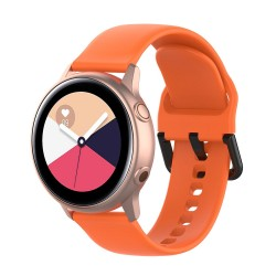 Armband till Samsung Galaxy Watch 42mm - orange (L)