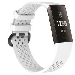 Fitbit Charge 3/4 armband Vit (S)