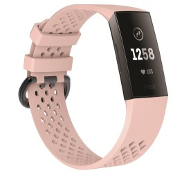 Fitbit Charge 3/4 armband Beigerosa (S)