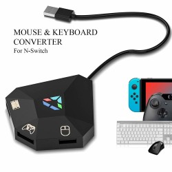 Mus/tangentbord adapter Switch, PS4, Xbox One/360, PS3