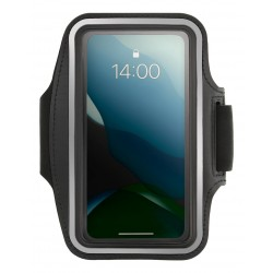 """STREETZ Sport armband, reflective, fits up to most 6.5"""" screens, black"""